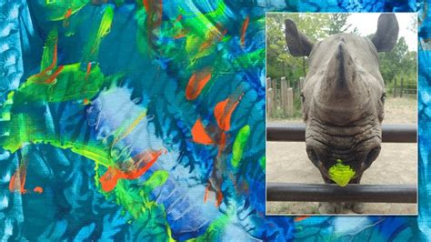 Rosie the Rhino Is Painting to Save Her Species: 'They're