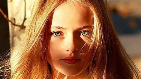 Ten-Year-Old Dubbed The 'Most Beautiful Girl In The World