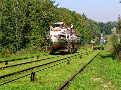 The Inclined Boat Lifts of Elblag Canal By Kaushik Feb