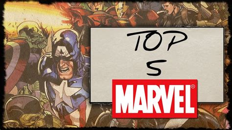 TOP 5 Marvel Games - YouTube