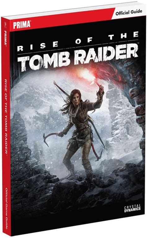 Rise of the Tomb Raider Official Game Guide Books | Zavvi