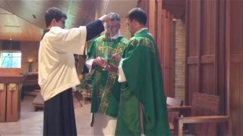 Altar Server Training Video for Masses with Incense - YouTube