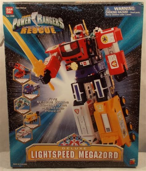 """""""OUT OF STOCK"""" Power Rangers Lightspeed Rescue - Deluxe"""