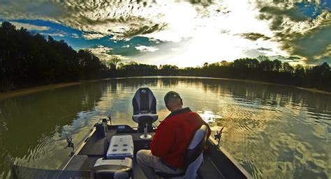 Tennessee's Chickamauga Lake is a Bass Fisher's Dream