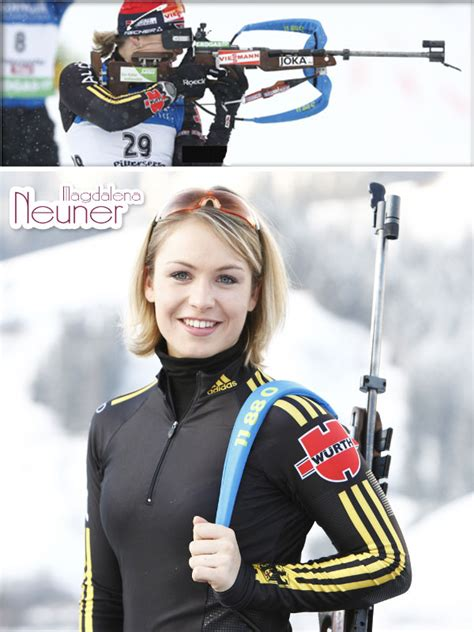 Magdalena Neuner Named Germany's Female Athlete of the