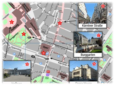 Vienna Tourist Map for Sightseeing - PDF