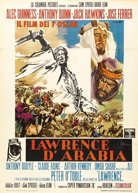 Lawrence of Arabia Movie Poster (#6 of 9) - IMP Awards