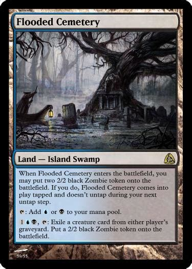 Ideas for a new type of Land - Custom Card Creation