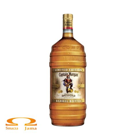 Rum Captain Morgan Spiced Gold Karaiby 1,5l edycja