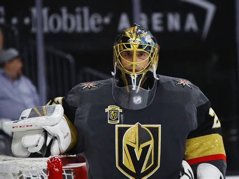 Marc-Andre Fleury makes himself at home, carries Vegas