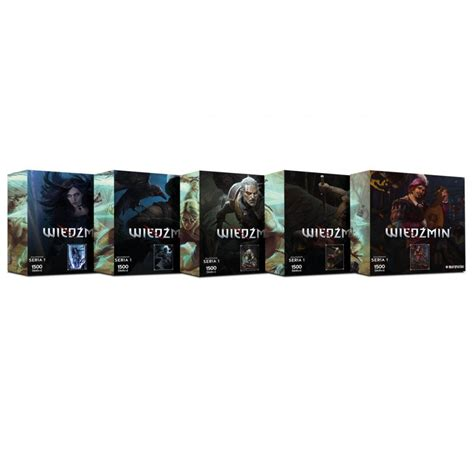 Puzzle | Puzzle Zaklínač (Heroes of the Witcher