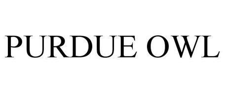 PURDUE OWL Trademark of Purdue Research Foundation Serial