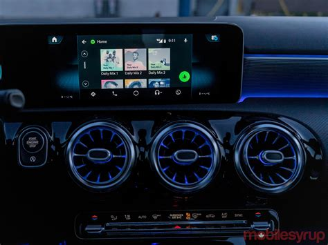 Mercedes-Benz MBUX Infotainment System Review: A broad