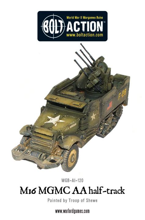 Gallery: Bolt Action US Vehicles - Warlord Games