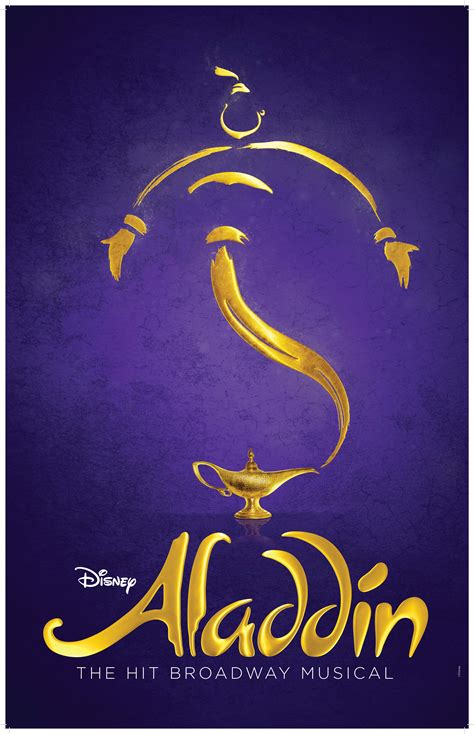 Aladdin the Musical Broadway Poster - Aladdin the Musical