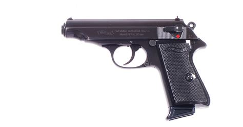 Pistole Walther PP 7,65 mm Br - č