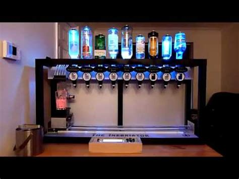 Cocktail Machine Mezclador de Bebidas automatico - YouTube