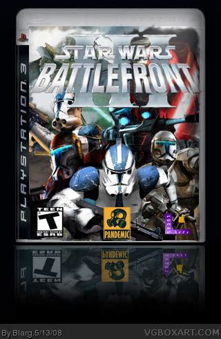Star Wars: Battlefront III PlayStation 3 Box Art Cover by