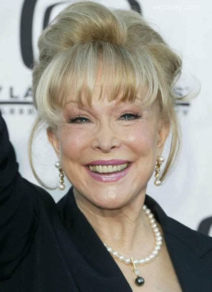 Barbara Eden Lets The Jeannie Out Of The Bottle From Her