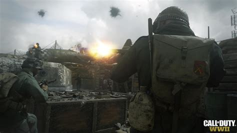 New official Call of Duty: WWII screenshots released