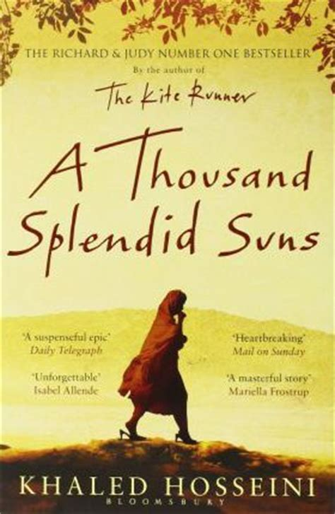A Thousand Splendid Suns : Khaled Hosseini : 9780747585893