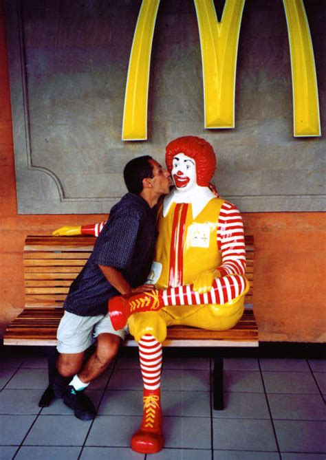 Fun With McDonald's Statues - Gallery | eBaum's World
