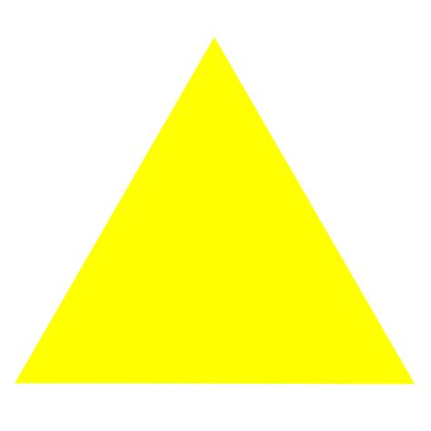 File:Symbol Yellow Equilateral Triangle Fill