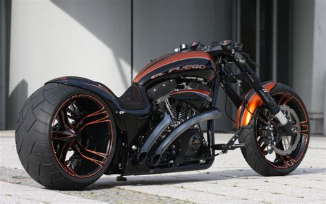 Thunderbike El Fuego, Custom German Dragster Excellence