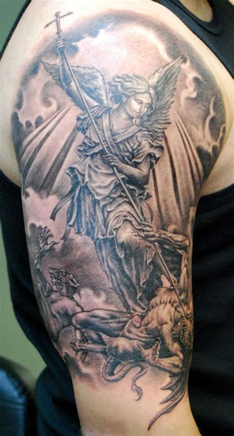 FREE TATTOO PICTURES: Angel Tattoos - Definition And Design