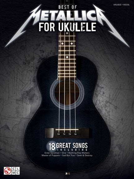 KNIHY A CD - BOOKS | BEST OF METALLICA FOR UKULELE