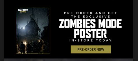 Pre-order Call of Duty: WWII at GameStop and get new
