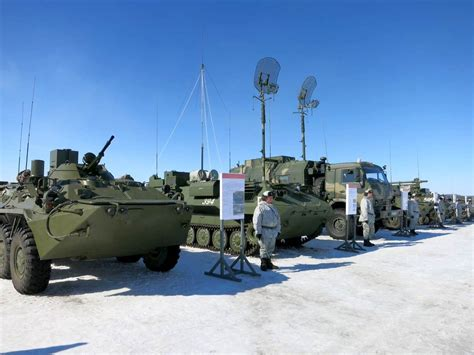 Russia's Military Buildup in Arctic Has U
