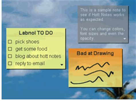 Download Yellow Sticky Notes Software for Your Desktop or