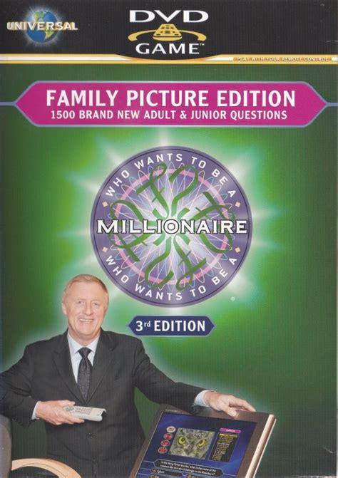 Who Wants To Be A Millionaire?: 3rd Edition for DVD Player
