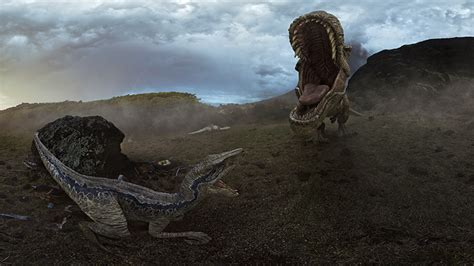 Oculus Reveal A Behind The Scenes Look At Jurassic World
