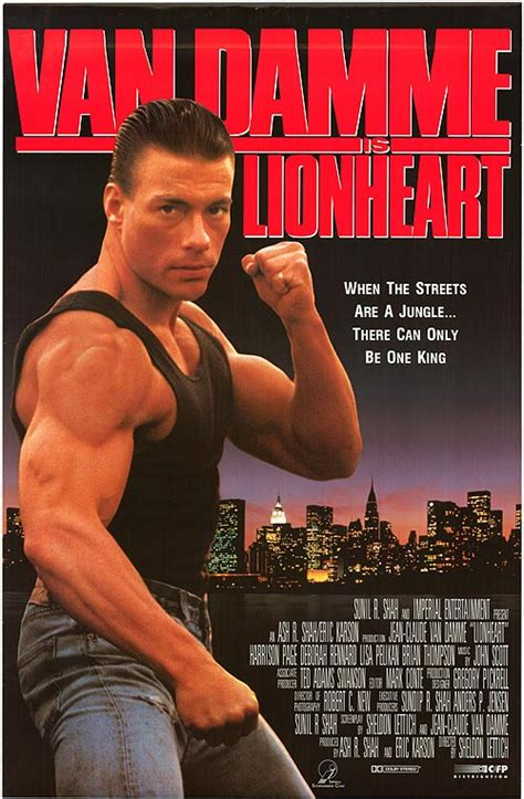 Lionheart movie posters at movie poster warehouse