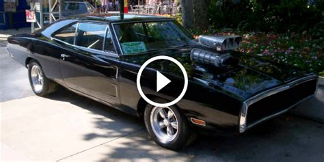950HP 1970 Fast & Furious Dodge Charger RT From The First