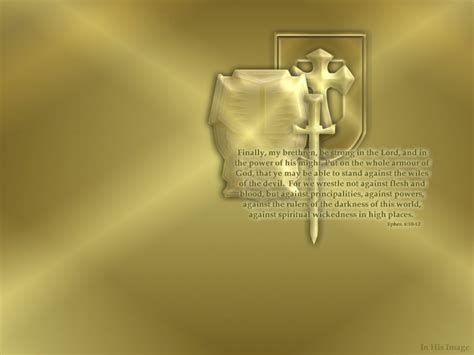Ephesians 6:10-12 Wallpaper - Christian Wallpapers and