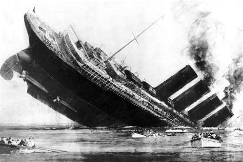 One hundred years after the Lusitania was torpedoed David