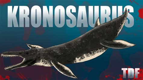 Kronosaurus Monster From The Deep (TDF Facts) - YouTube