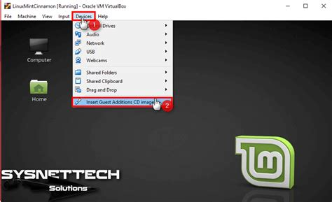 How to Install Guest Additions on Linux Mint   SYSNETTECH