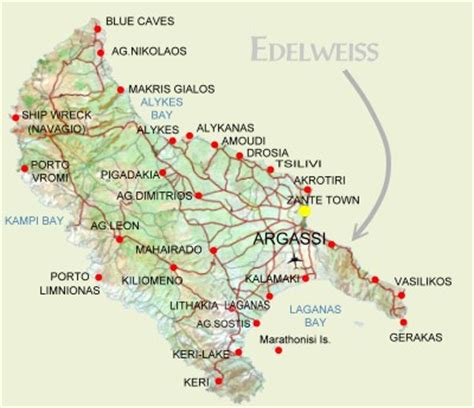 Hotels Greece: Hotels in Argassi - EDELWEISS HOTEL APARTMENTS