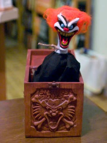 Jack in the Box   Scary Toys   Scary For Kids