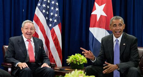 Obama and Castro: Gentle giant meets feisty featherweight