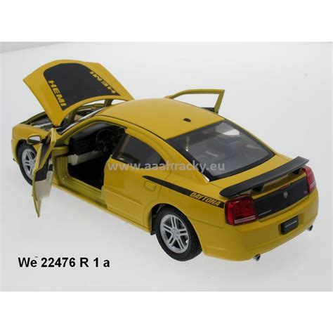 Welly 1:24 Dodge 2006 Charger Daytona R/T (yellow) - code
