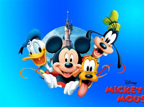 Mickey Mouse Donald Duck Pluto And Goofy New Hd Desktop