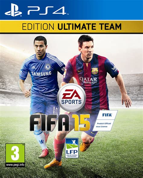 Playstation 4 News: EA Sports Reveal FIFA 15 UK Cover with