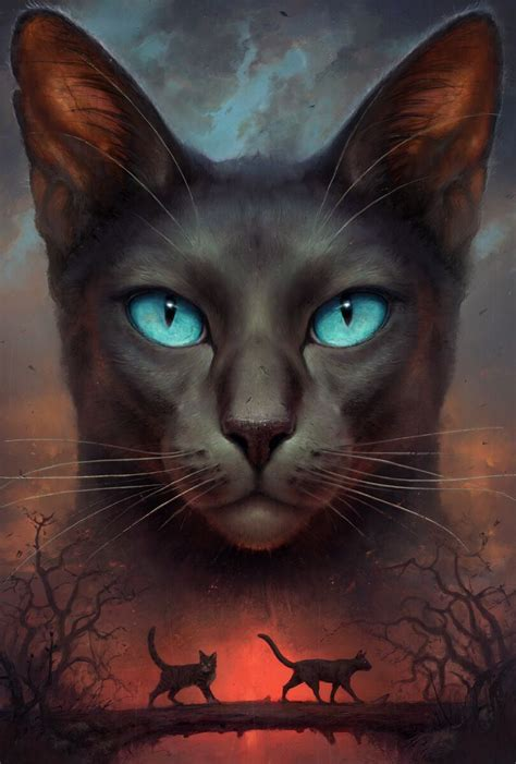 """Crowfeather on the cover of """"Twilight"""" by Erin Hunter"""
