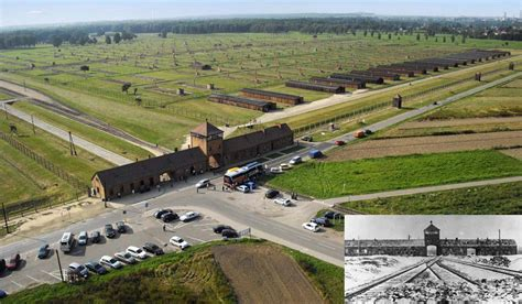 PHOTO: Auschwitz Concentration Camp Then and Now | History