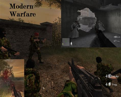 Game Mods: Call of Duty 2 - Modern Warfare - skin